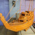 Kerajinan Kapal Dari Bambu Terbaru Beserta Cara Membuatnya