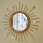 Kerajinan Tangan Cermin Hias Dari Cd Bekas