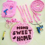 Kerajinan Tangan Dari Bekas Handuk Untuk Keset Rumah