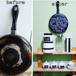 Kerajinan Tangan Dari Bekas Teflon Untuk Hiasan Dinding Dapur