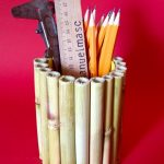 Kerajinan Tangan Tempat Pensil Dari Bambu