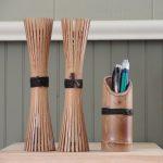 Kerajinan Tempat Pensil Dari Bambu