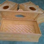 Kerajinan Tempat Tisu Dari Bambu