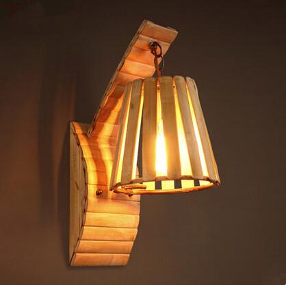 Kerajinan Lampu Dari Bambu Hitam