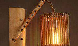 Lampu Dari Bambu
