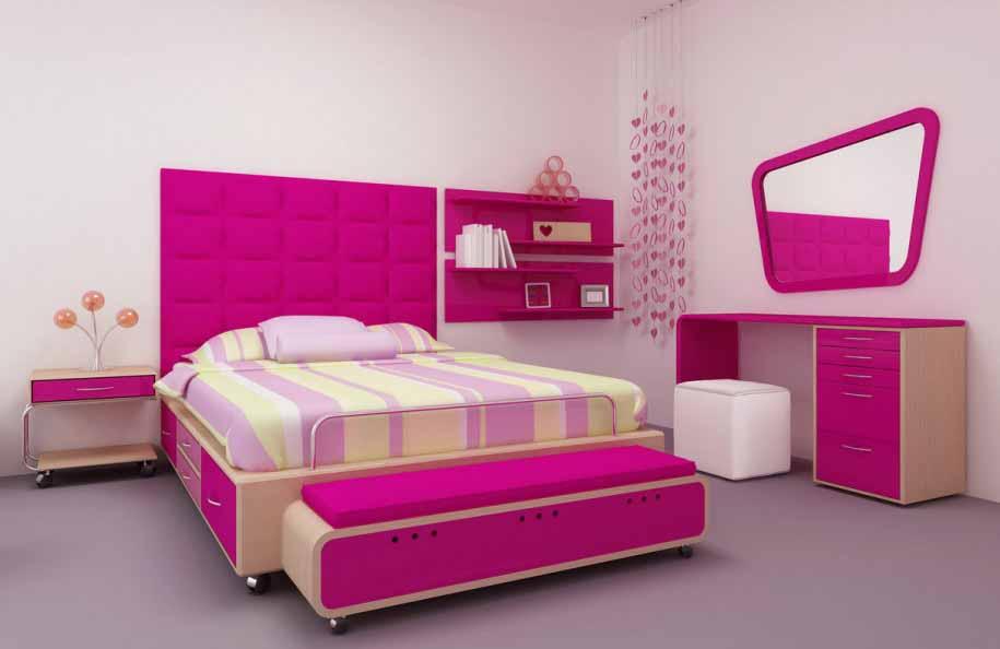11 idea deko bilik tidur kecil terbaru 2018 dekor rumah for Dekor kamar hotel
