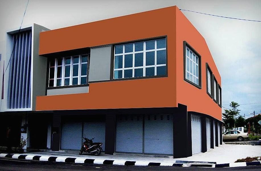 15 Warna Cat Dinding Luar Rumah Yang Cerah 2021 | Dekor Rumah