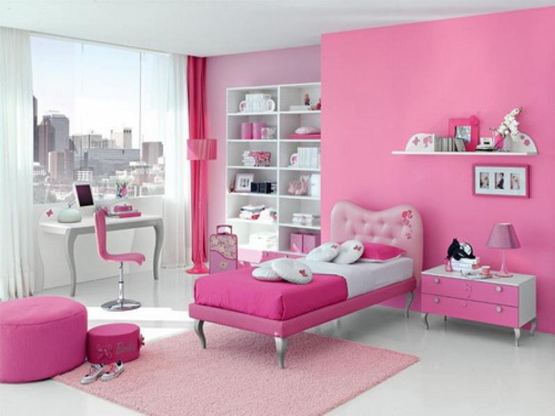 Cat Bilik Tidur Warna Pink Desainrumahid