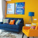 Warna Cat Ruang Keluarga Kuning