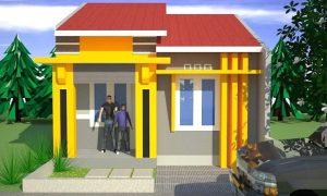 Warna Cat Rumah Minimalis Tampak Depan