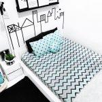 18 Desain Kamar Tidur Hitam Putih Terbaru