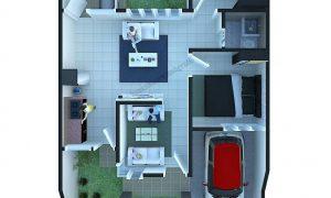 Denah Rumah Minimalis Type 36 Renovasi