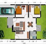 Foto Denah Rumah Minimalis Type 36 Terbaru