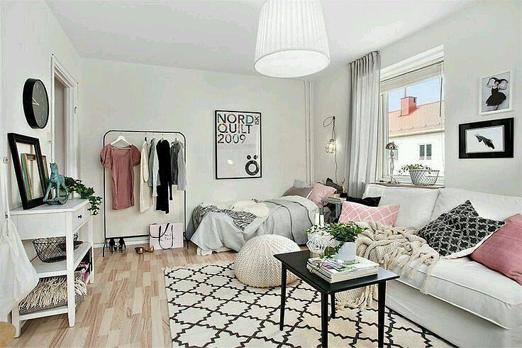 18 Desain Kamar Tidur Apartemen Minimalis Terbaru 2019 Dekor Rumah