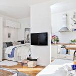 Desain Kamar Apartemen Mungil Minimalis