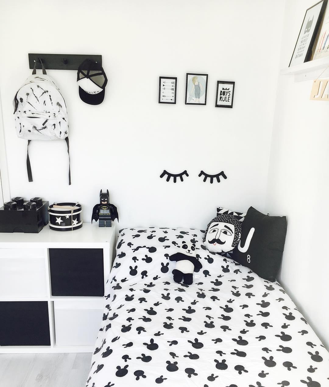 Desain Interior Kamar Tidur Hitam Putih  Model Interior Rumah
