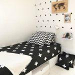 Desain Kamar Tidur Hitam Putih Minimalis Modern