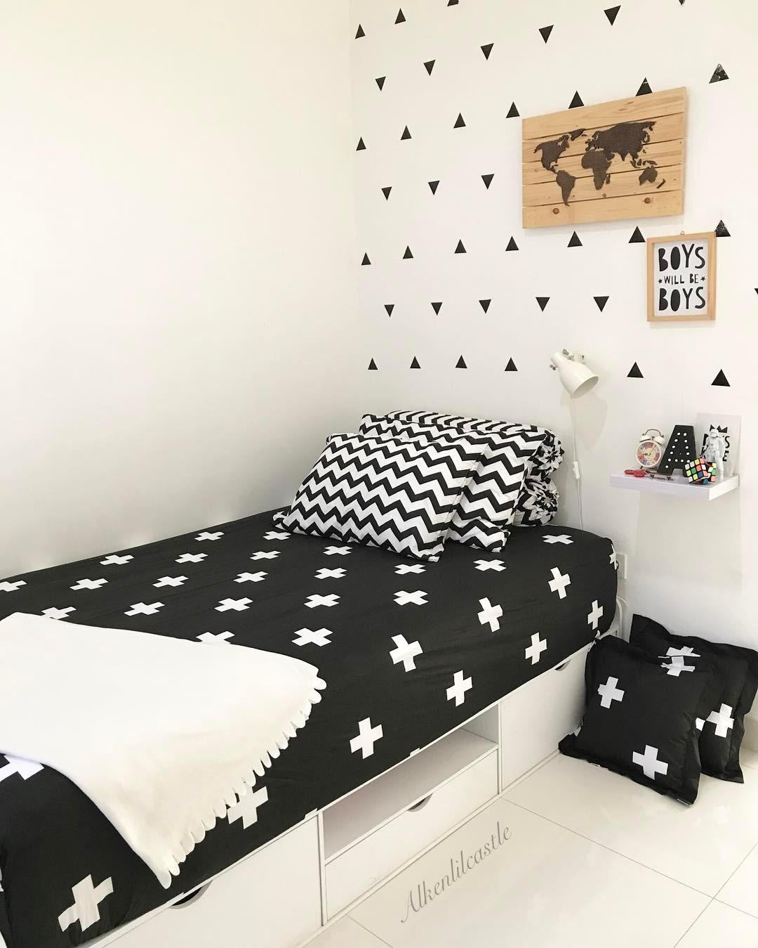 18 Model Desain Kamar Tidur Hitam Putih Terbaru 2017 Dekor Rumah