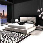 Desain Kamar Tidur Hitam Putih Sederhana Modern