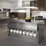Desain Meja Dapur Stainless Steel