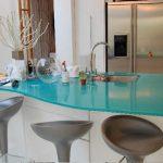 Desain Meja Dapur Kaca Minimalis