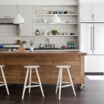 Desain Meja Dapur Kayu