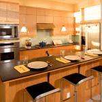 Desain Meja Dapur Kayu Terbaru