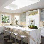 Desain Meja Dapur Marmer Sederhana