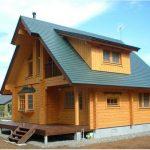 Desain Rumah Kayu Jepang