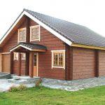 Desain Rumah Kayu Minimalis 1 Lantai