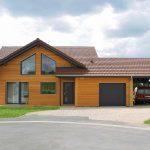 Desain Rumah Kayu Minimalis 1 Lantai Terbaru