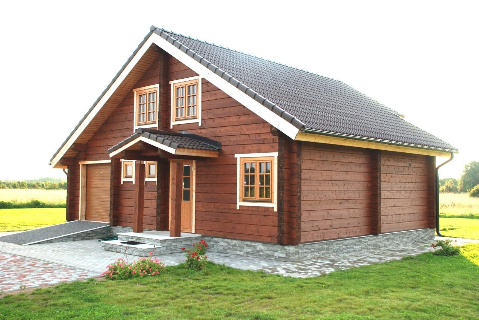 Gambar Rumah Kayu Minimalis 2 Lantai Desain Rumah Minimalis