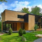 Desain Rumah Kayu Minimalis 2 Lantai