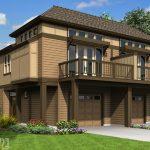 Desain Rumah Kayu Minimalis 2 Lantai Terbaru
