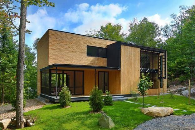 21 Desain Rumah Kayu Minimalis Terbaru 2019 Dekor Rumah