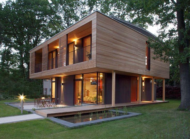 21 Desain Rumah Kayu Minimalis Terbaru 2018 Dekor