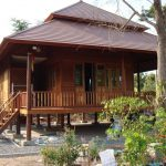Desain Rumah Kayu Panggung Terbaru