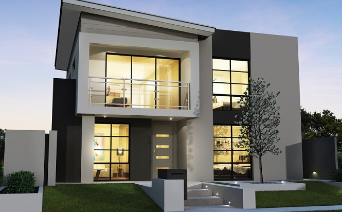 Desain Rumah Modern Terbaru Lagi Ngetren