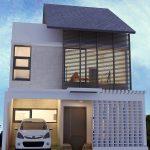 Foto Desain Rumah Modern Minimalis 2 Lantai