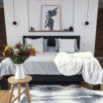 Kamar Tidur Hitam Putih Terbaru