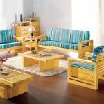 Kursi Kayu Jati Set Ruang Tamu Minimalis