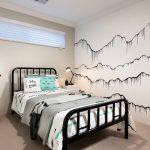 Model Kamar Tidur Sederhana Hitam Putih