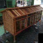 Model Kandang Ayam Kampung Sederhana