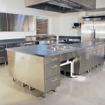 Model Meja Dapur Stainless Steel Modern