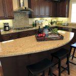 Model Meja Dapur Granit