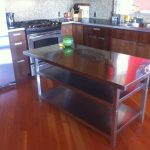 Model Meja Dapur Murah Stainless Steel