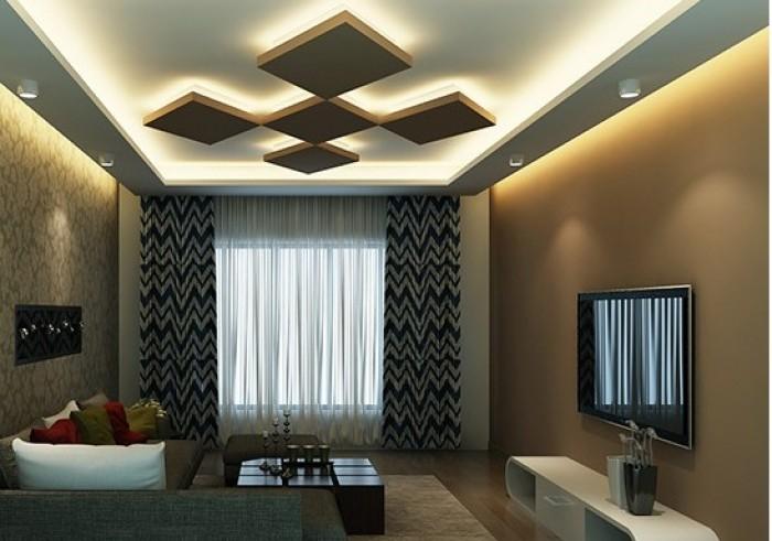 16 Model Plafon  Ruang Tamu Terbaru 2019  Dekor Rumah