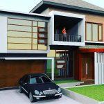 Model Rumah Modern Minimalis 2 Lantai