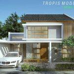 Rumah Modern 2 Lantai Terbaru Tampak Depan