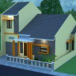 Contoh Desain Rumah Minimalis Modern Terbaru Type 36